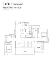 Hyll-on-Holland-Floorplan-3bedroom-+-Study-TypeF